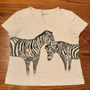 Chico's zebra top